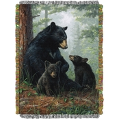 Northwest Hautman Bros. Naptime Woven Tapestry Throw