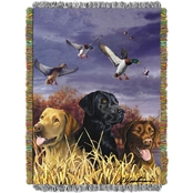 Northwest Hautman Bros. Bird Dog Woven Tapestry Throw