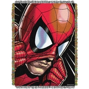 Northwest Marvel Peter Parker Woven Tapestry Throw