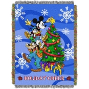 Northwest Mickey Spread Cheer Woven Tapestry Throw