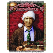 Northwest Christmas Vacation: Pile of Gifts Woven Tapestry Throw