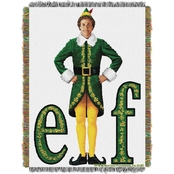 Northwest Elf Movie Pose Woven Tapestry Throw