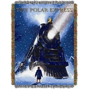 Northwest Polar Express: Engine Wonder Woven Tapestry Throw