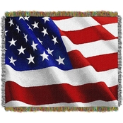 Northwest Flag Movement Woven Tapestry Throw