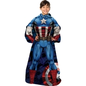 Northwest Company Captain America First Avenger Comfy Throw