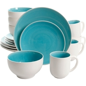 Gibson Home Elite Serenity 16 Pc. Dinnerware Set