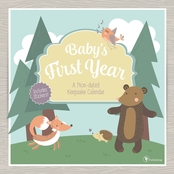 TF Publishing Baby's First Year Woodland NonDated Wall Calendar