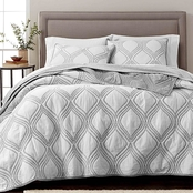 Martha Stewart Collection Gramercy Gate Reversible Quilt