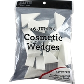 Elite Cosmetic Jumbo Wedges, 16 pk.
