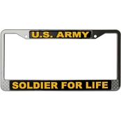 Mitchell Proffitt U.S. Army Soldier For Life License Plate Frame