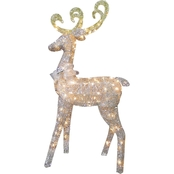 National Tree Company 60 in. Reindeer Decoration with Clear Lights