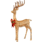 National Tree Company 48 in. Pre Lit Standing Reindeer