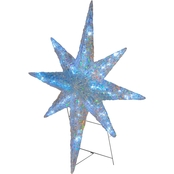 National Tree Company 42 in. Ice Crystal Star with LED Lights