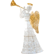 National Tree Company 60 in. Angel Decoration with LED Lights