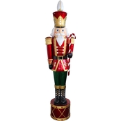 National Tree Company 65 in. Pre Lit Nutcracker Decoration