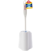 O-Cedar Dual Action Bowl Brush with Rim Cleaner and Caddy