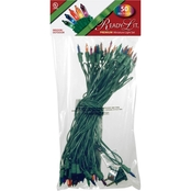 National Tree Company Ready-Lit Premium 50 Multicolor Bulb Light String Set