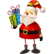 National Tree Co. 10 In. Metal Bobble Santa