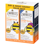 Zarbee's Children's Day and Night Cough Syrup Twin Pack