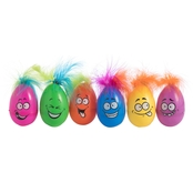 GiGi Seasons Funny Easter Eggs 6 ct.