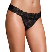 Maidenform MF Sexy Must Have Lace Thong Panties