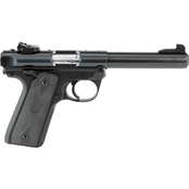 Ruger Mark IV 22/45 22 LR 5.5 in. Bull Barrel 10 Rds 2-Mags Pistol Black