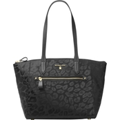 Michael Kors Nylon Kelsey Medium Top Zip Tote