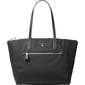 Michael Kors Nylon Kelsey Large Top Zip Tote