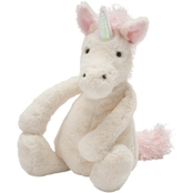 Jellycat Medium Bashful Unicorn Stuffed Toy
