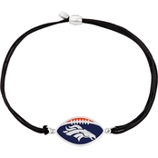 Alex and Ani NFL Denver Broncos Sterling Silver Kindred Cord Bracelet