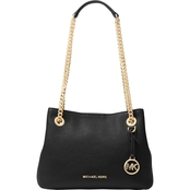 Michael Kors Jet Set Chain Medium Leather Messenger Bag
