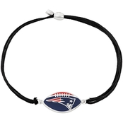 Alex and Ani NFL New England Patriots Sterling Silver Kindred Cord Bracelet