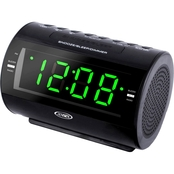 Jensen AM/FM Digital Dual Alarm Clock with Nature Sounds