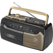 Studebaker Portable Cassette Player/Recorder with FM Radio