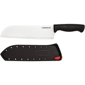 Farberware Edgekeeper 7 in. Santoku Knife with Self Sharpening Sheath