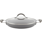 Rachael Ray Cucina 12 in. Covered Pan