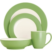 Noritake Colorwave Apple 4-pc. Rim Place Setting