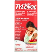 Tylenol Children's Dye Free Oral Suspension, Cherry, 2 oz.
