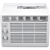 Whirlpool 5,000 BTU Window Mounted Air Conditioner with Mechanical Controls