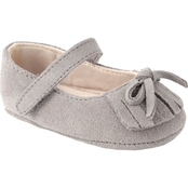 WeeKids Infant Girls Moccasin With Bow