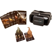 Utopia Dinosaur Augmented Reality Kit with Virtual Reality Headset