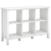 Bush Furniture Broadview 6 Cube Storage Bookcase