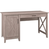Bush Furniture Key West Single Pedestal Desk