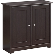 Bush Furniture Cabot Low Storage Cabinet with Doors
