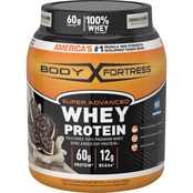 Body Fortress Super Advanced Whey Protein Supplement Cookies N' Creme 2 lb.