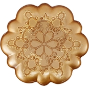 Martha Stewart Collection Figural Snowflake Appetizer Plate