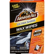 Armor All Ultra Shine Wax Wipes 12 ct.