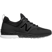 New Balance Men's Athleisure Shoes MS574SBK