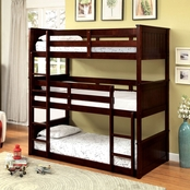 Furniture of America Therese Triple Bunk Bed