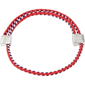 Alex and Ani Red, White and Blue Hope Rope